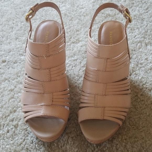 Franco Sarto Shoes - Franco Sarto Nude Wedge